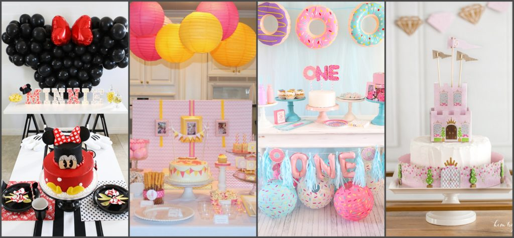 Unique DIY 1st Birthday Party Ideas Themes For Baby Girls